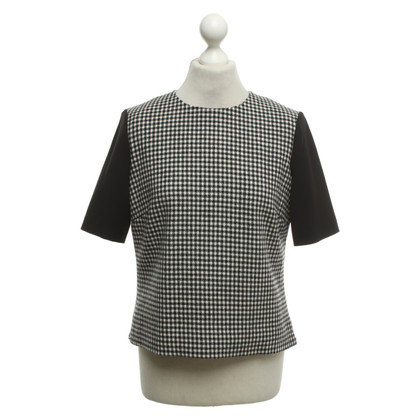 Hobbs top houndstooth pattern