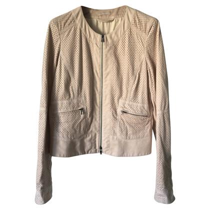 Riani Leather Biker Jacket Faux