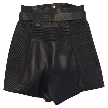 Philipp Plein shorts in pelle