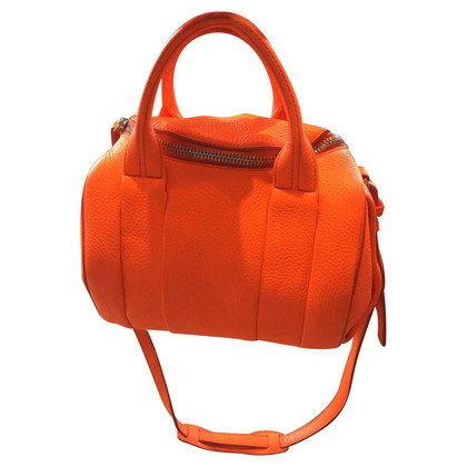 Alexander Wang Rockie medium orange leather bag