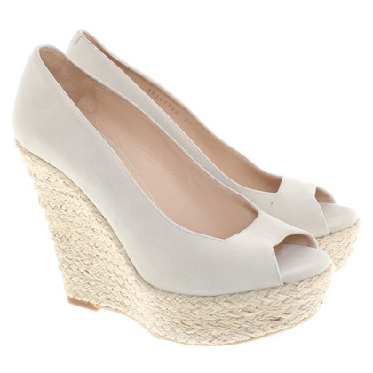 Hugo Boss Wedges mit Bastgeflecht