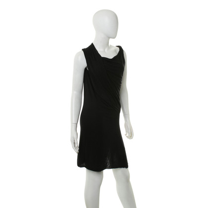 Rick Owens Jersey-jurk in zwart