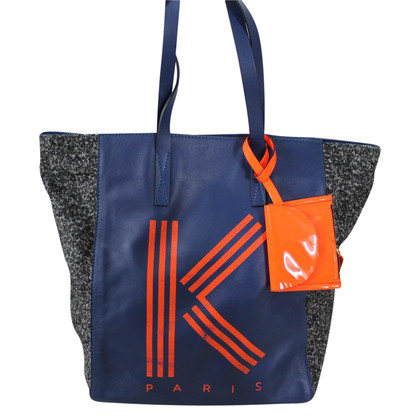 Kenzo Shopper in blue / orange