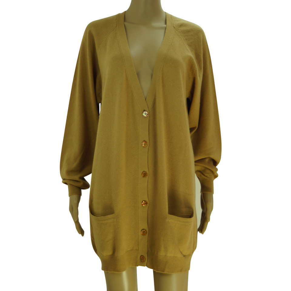 Moschino Cheap and Chic Cashmere maxi cardigan - Buy Second hand ...