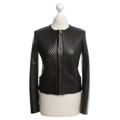 Prada Leather jacket in black
