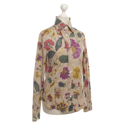 Etro Bluse mit floralem Muster