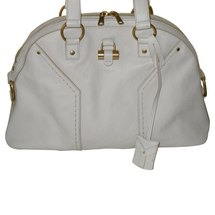 "Saint Laurent ""Muse Bag""  in bianco/crema"