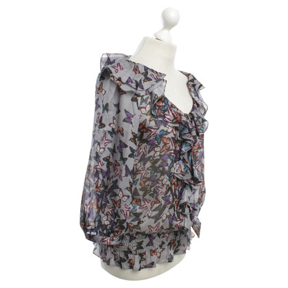 Ted Baker Bluse mit Muster