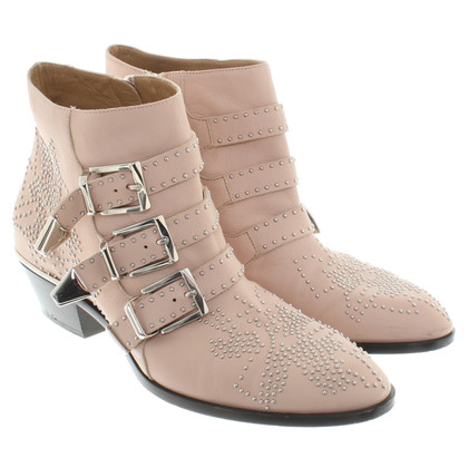 Chloé Ankle boots in nude