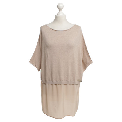 Fay top with silk detail