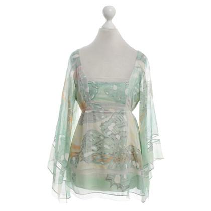 Diane von Furstenberg Bluse mit floralem Print