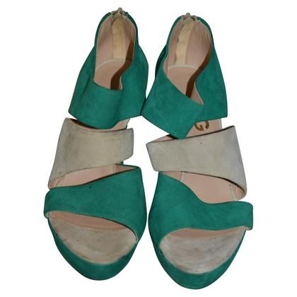 D&G Wildleder-Sandaletten