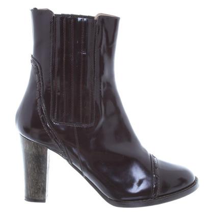Chloé Enkel laarzen lakleder