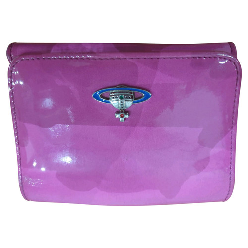 107b5ce44e Vivienne Westwood Bag/Purse Patent leather in Pink - Second Hand ...
