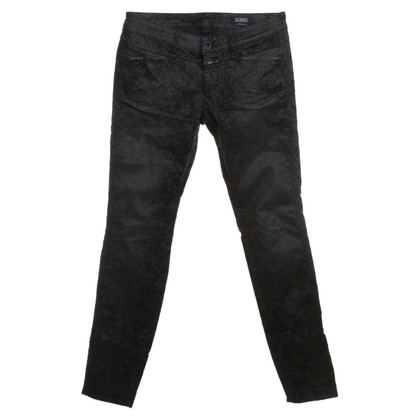 Closed Pantaloni in blu/nero