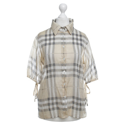 Burberry Blouse with check pattern