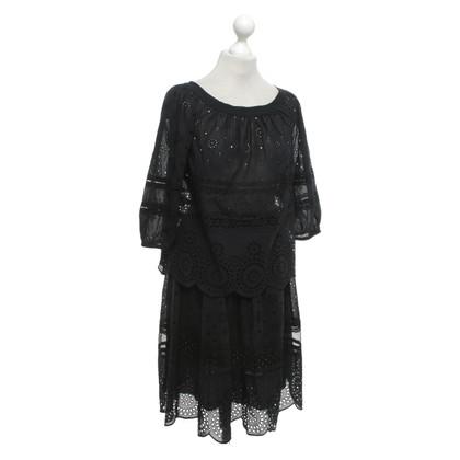 Marc by Marc Jacobs Zweiteiliges Kleid mit Lochstickerei