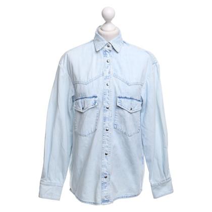 Golden Goose Giacca di jeans con bottoni automatici