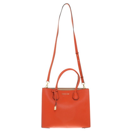 "Michael Kors ""Mercer Tote"" in Orange"
