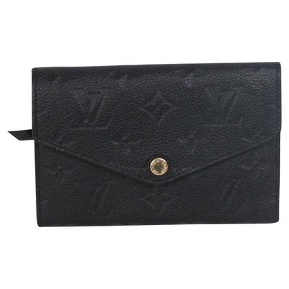 Louis Vuitton Portemonnee in Monogram Empreinte leder
