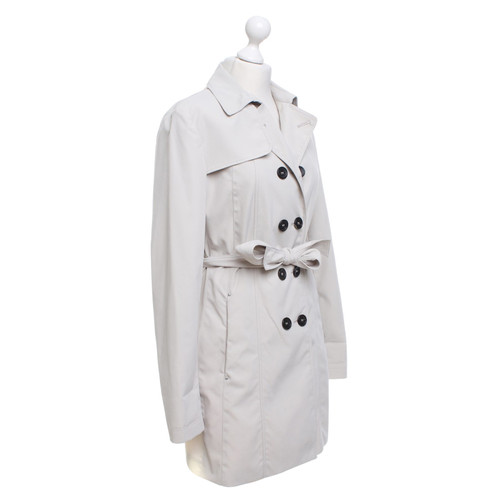 more photos 79b8d 1e153 Peuterey Trench coat in cream - Second Hand Peuterey Trench ...