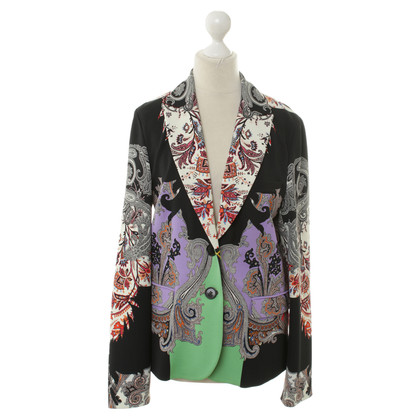 Etro Jacke mit Paisley-Muster