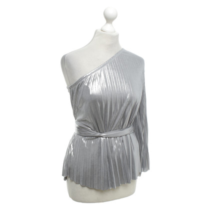 Halston Heritage Silver colored top