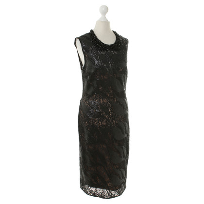 Roberto Cavalli Black dress with sequin trim
