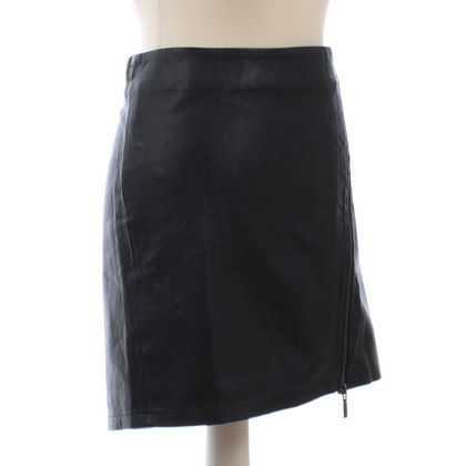 Max & Co Leather skirt with zipper