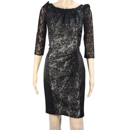 Karen Millen Kleid mit Spitzenbesatz