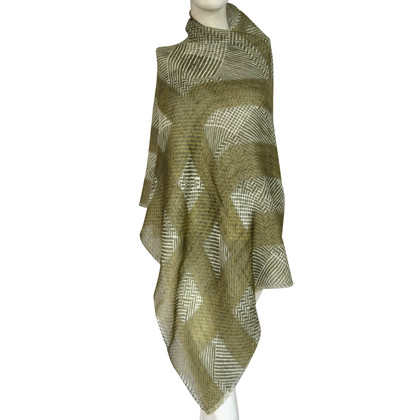 Burberry sciarpa di cachemire con una quota di lino