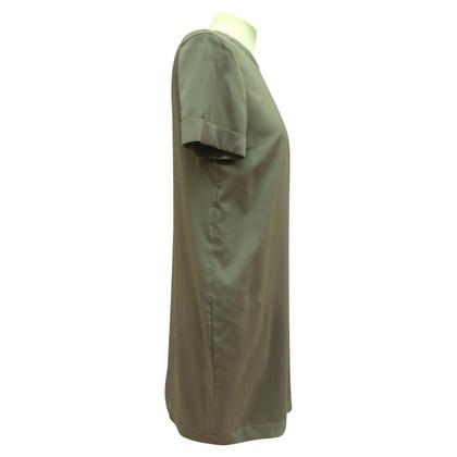 Brunello Cucinelli Seidenkleid mit Taschen