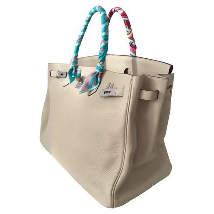 "Hermès ""Birkin Bag 40"" from Clémence leather"
