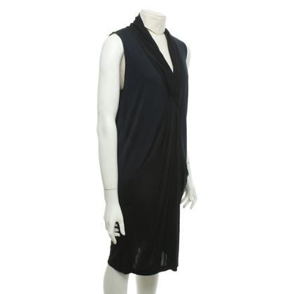 Diane von Furstenberg Robe en noir / bleu