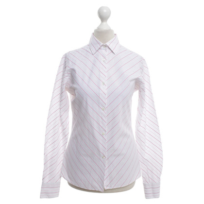 Loro Piana Blouse met strippen