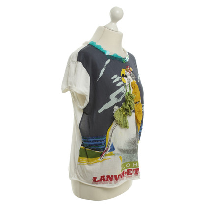 Lanvin T-Shirt mit Applikation