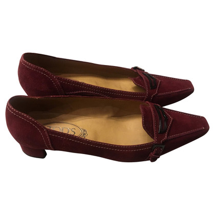Tod's pumps Suede