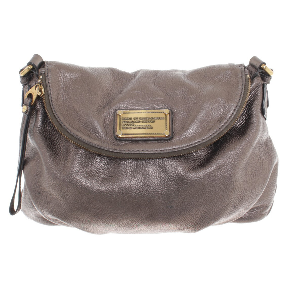 Marc by Marc Jacobs Golden leather handbag