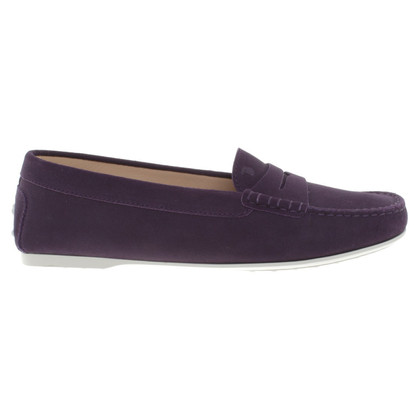 Tod's Moccasins in violet