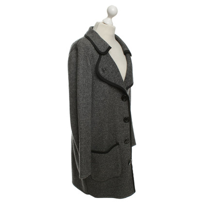 Moschino Wool coat in dark gray