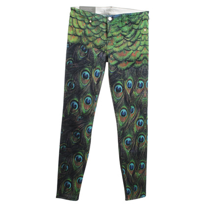 7 For All Mankind Jeans met patroon peacock
