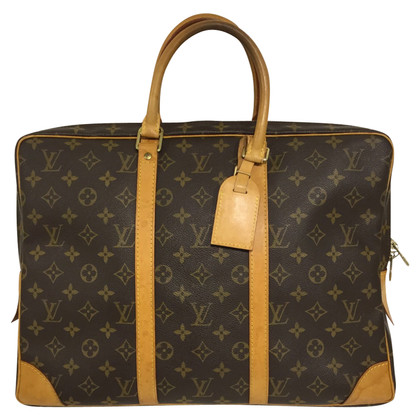 Louis Vuitton Briefcase from Monogram Canvas