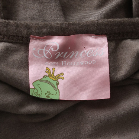 Top Princess Beige Hollywood goes Pailletten mit Princess goes 6UqaRR