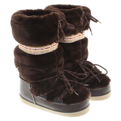 Marc Jacobs Fur boots in brown