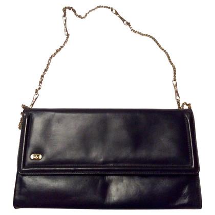 Christian Dior Vintage Navy Blue Clutch Bag