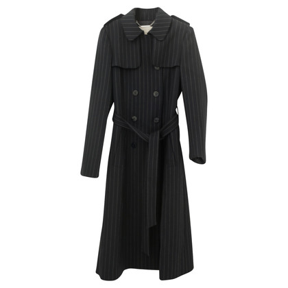 Hobbs Striped trench coat