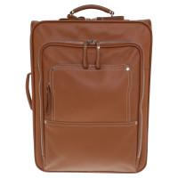 Longchamp valise en cuir