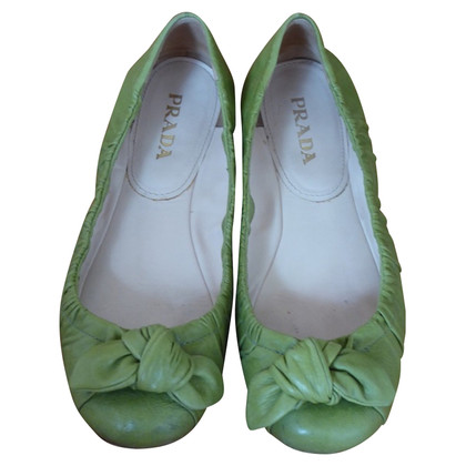 Prada Ballerine in calce verde
