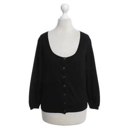Strenesse Korte vest in zwart