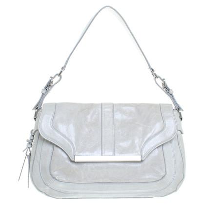 Calvin Klein Handtasche in Grau-Grün